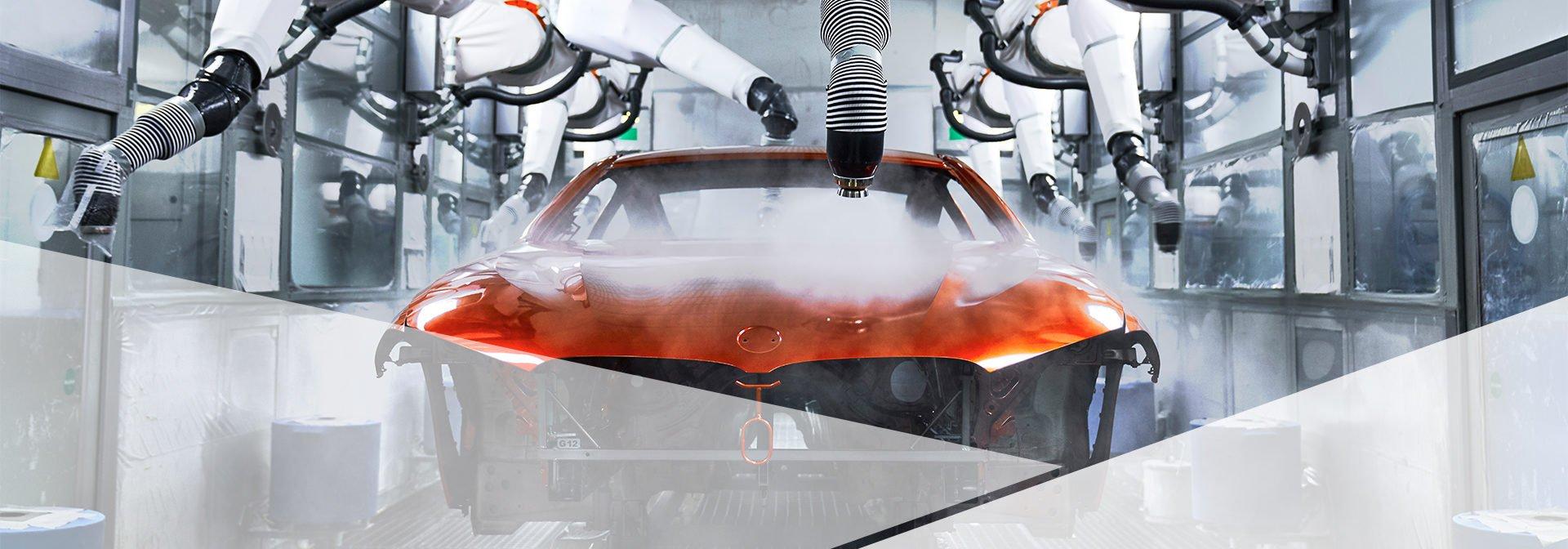 BMW plant - paint shop