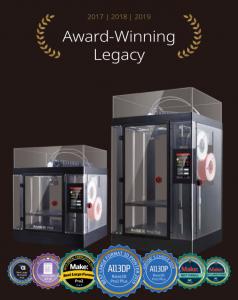 Raise3D Award-Winning Legacy