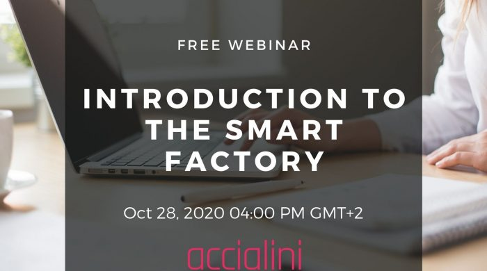webinar introduction to the smart factory