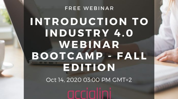 webinar industry 4.0 bootcamp fall edition 2020