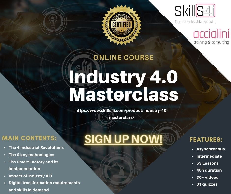 Industry 4.0 Online course