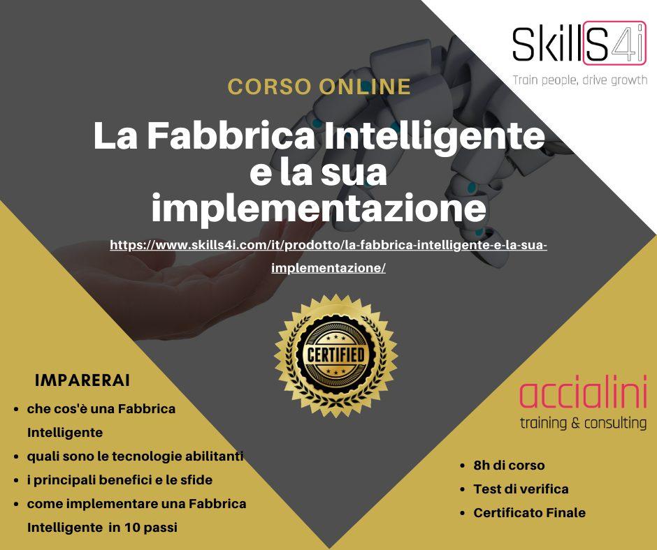 La Fabbrica Intelligente Corso Online